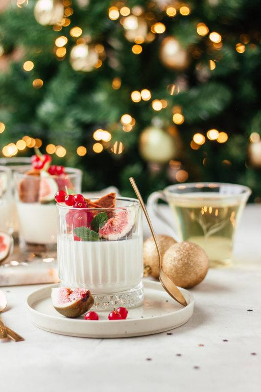 Christmas is coming: Panna cotta met thee