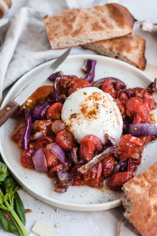 Tomaat mozzarella: een tikkeltje anders