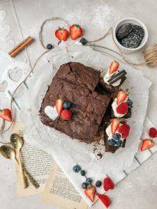 Be my Valentine: Brownie