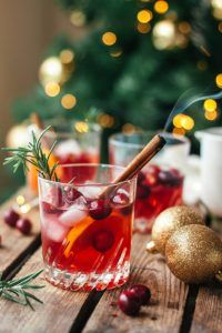 Christmas is coming: Cranberry whisky met rozemarijn
