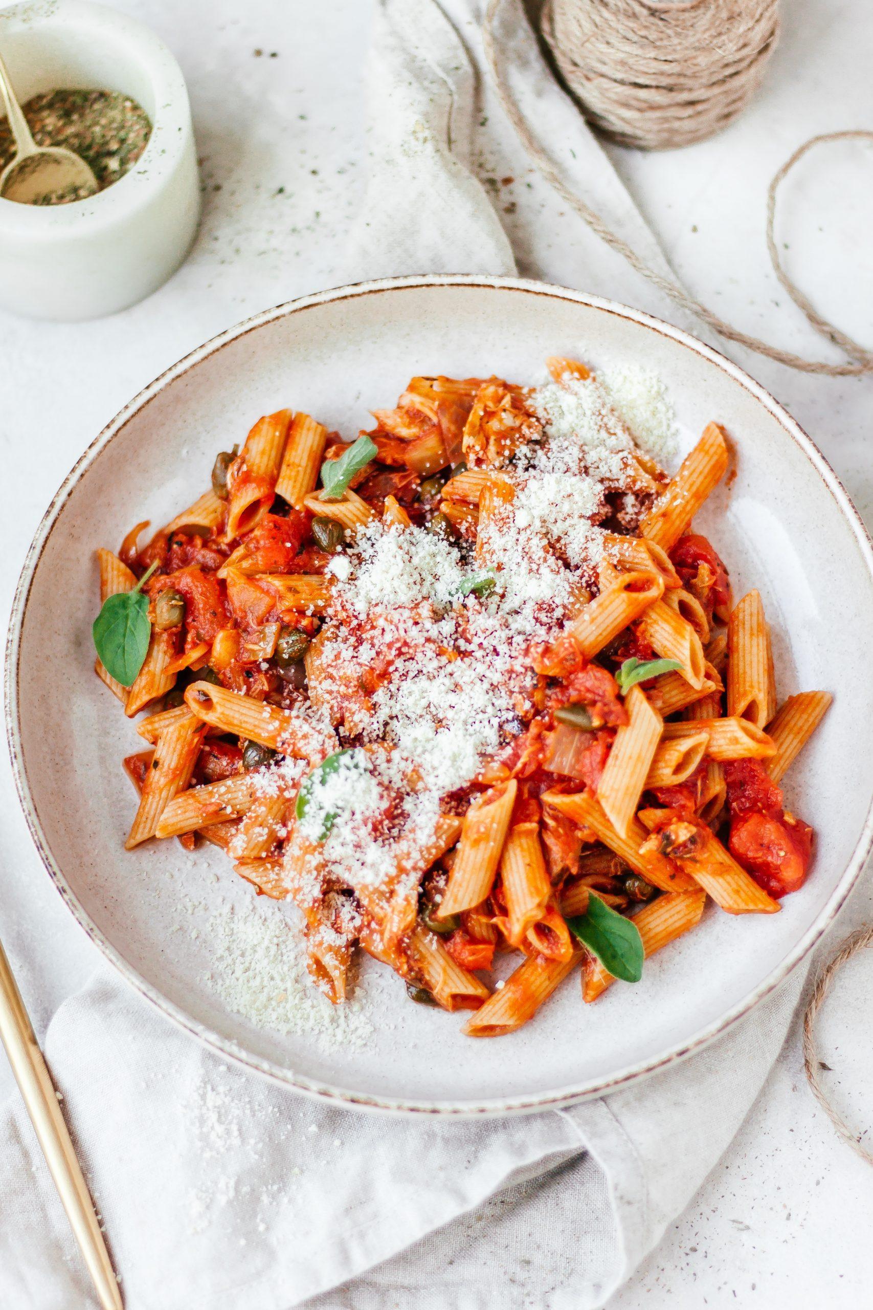 Snelle pantry pasta penne