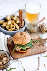 Cheesy Champignonburger