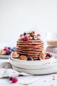Blokfood: Gezonde pannenkoeken met kikkererwtenmeel