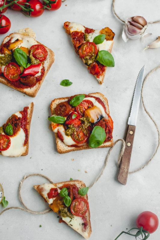 Blokfood: Pizza Toast