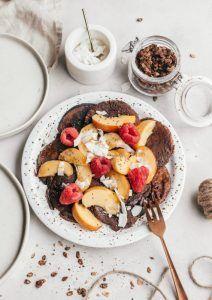 Chocolade Protein Pancakes