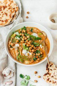 Curry met kikkererwten