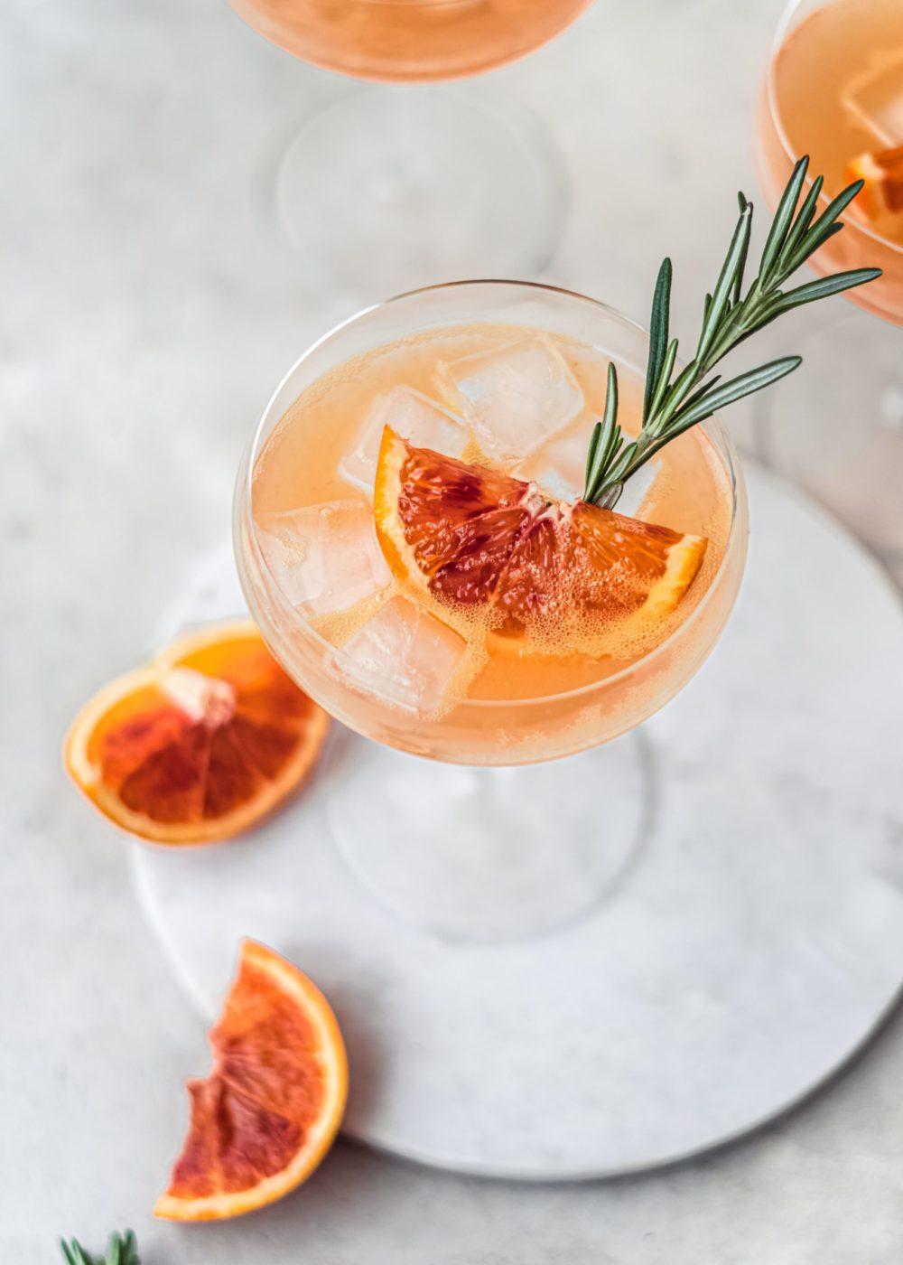 Bloedsinaasappel Mocktail