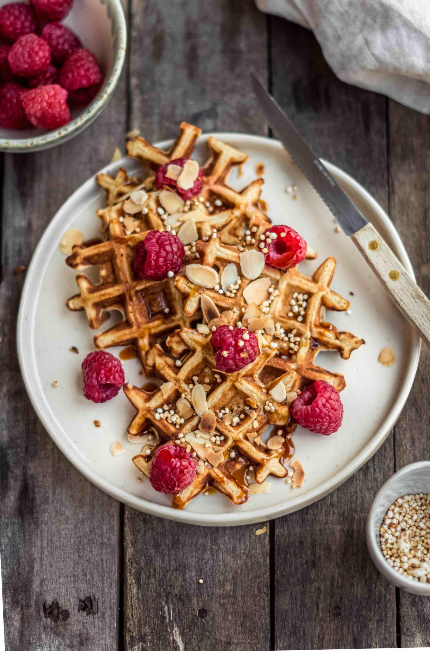 Eenvoudige ontbijtwafeltjes